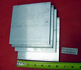 "2/"" X 5/"" ALUMINUM 6061 FLAT BAR 9/"" long SOLID T6511 Extruded Plate Mill Stock"
