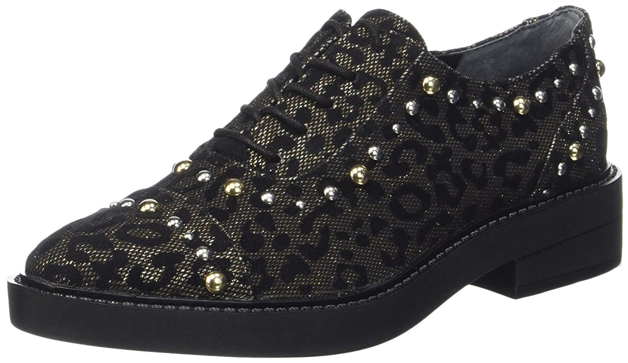 Guess Zapatos de Cordones 38 EU Negro En línea Obtenga la mejor oferta barata de descuento más grande