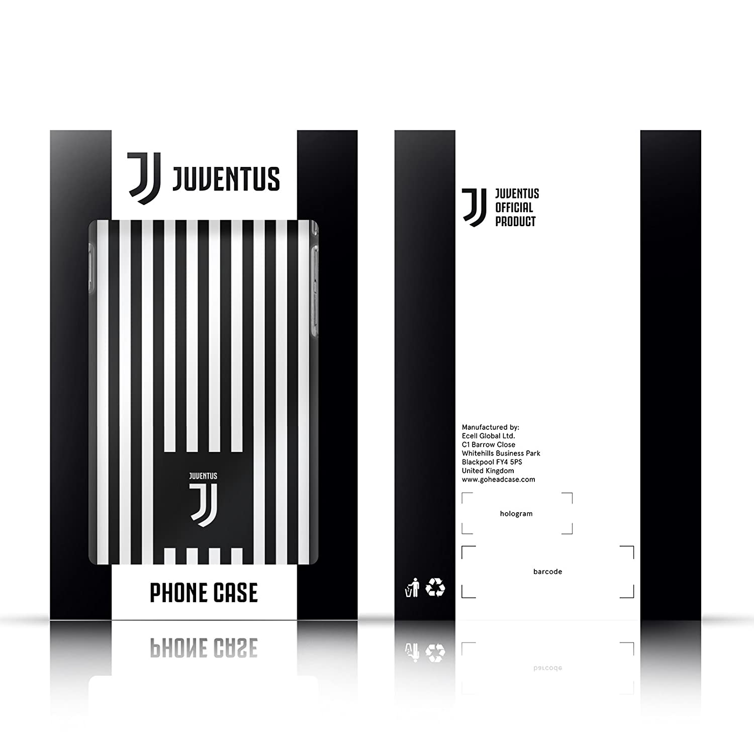 Official Juventus Football Club Black 2017//18 Marble Soft Gel Case for Apple iPod Touch 6G 6th Gen