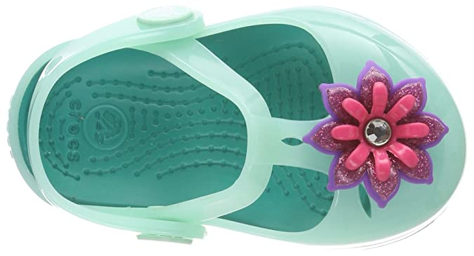 Sandali verdi per bambina Crocs Isabella IPZJji2