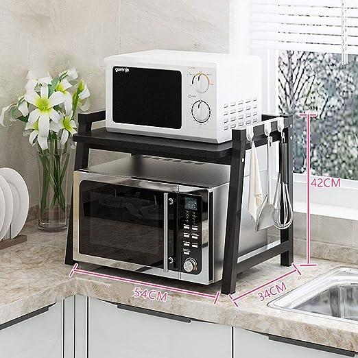 Estantes de cocina y estantes, estante de horno para microondas ...