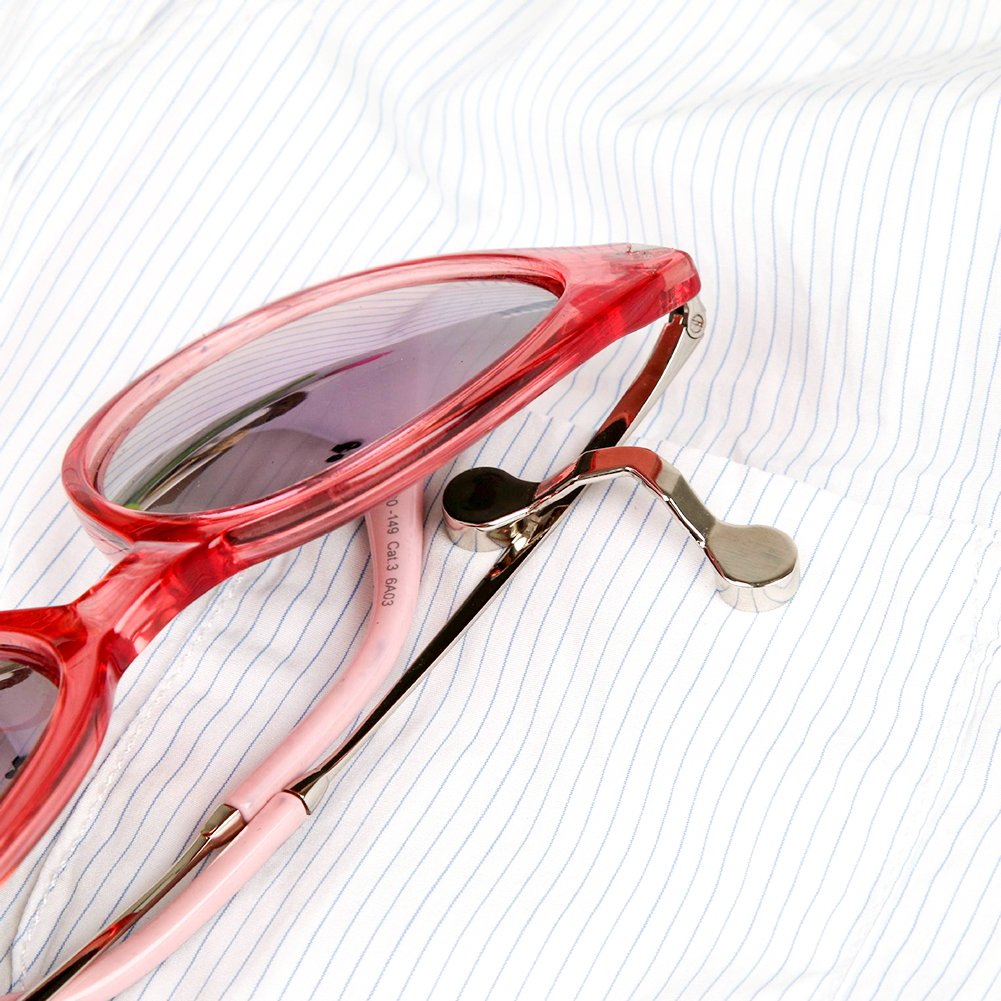 S-power 2 Pcs Strong Magnetic Eyeglasses Spectacle Sunglasses Holder Clip Brooch by S-power (Image #3)
