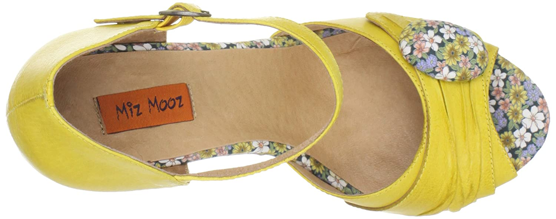 Miz Mooz Womens Kenna Ankle-Strap Sandal