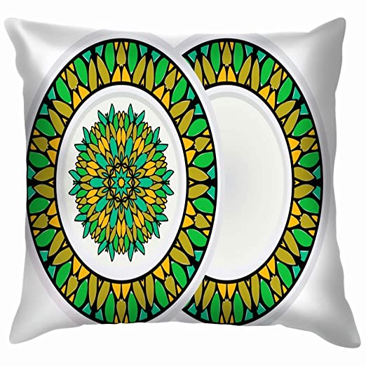 shizh Set Ornamento Decorativo Mandala Marco Redondo The ...