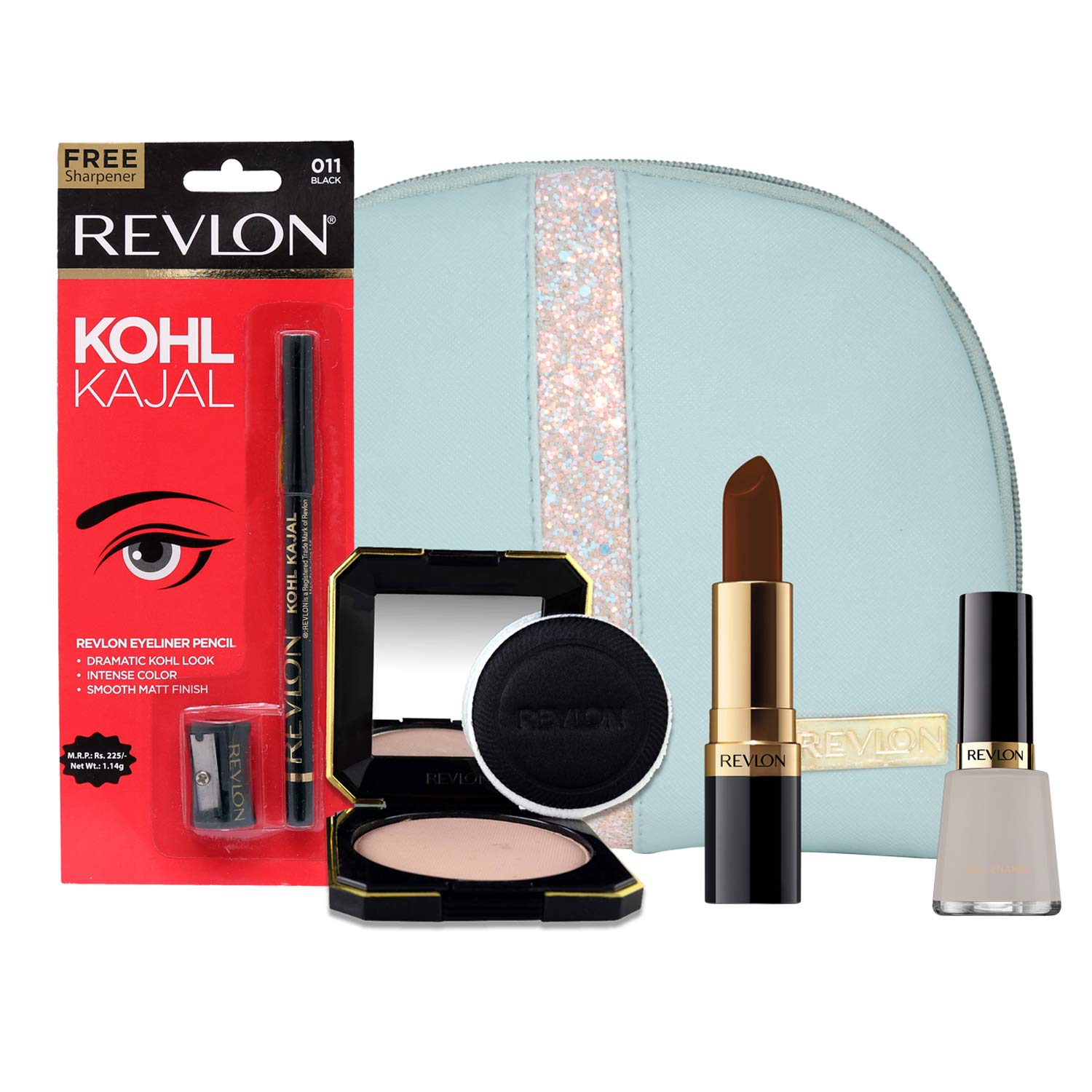 Revlon Must Have Beauty Combo With Makeup Storage Pouch