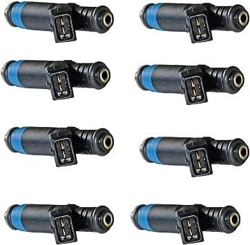4 PCS  80 LB High Impedance Fuel Injectors EV1 for GM Ford Ref:110324 FI114992