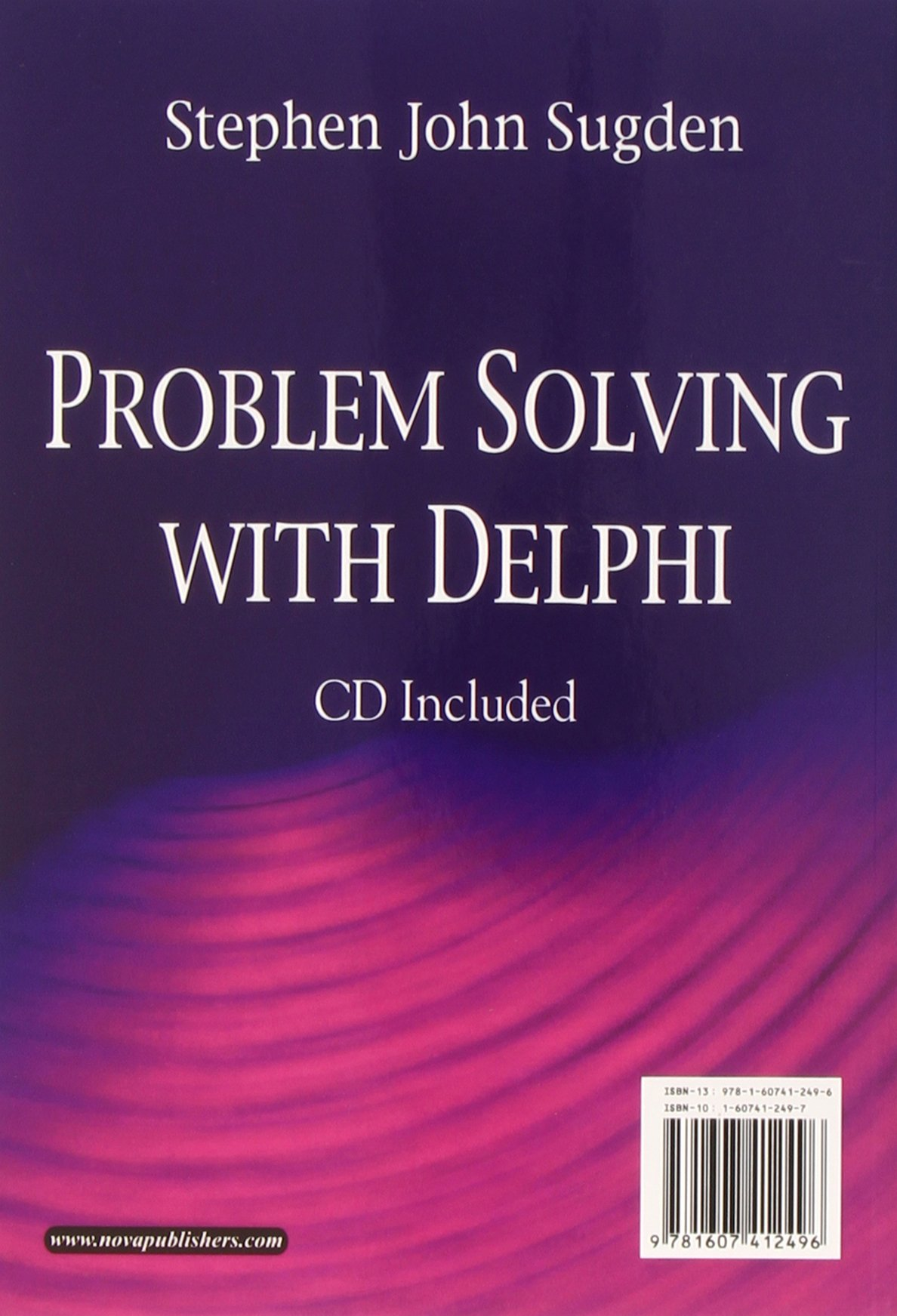 Problem Solving with Delphi [With CD (Audio)] (Computer Science, Technology and Applications)