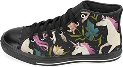 Women's High Top Canvas Shoes Trainers