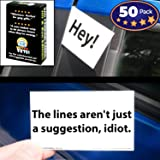 Witty Yeti Hilarious Bad Parking Cards 50-Pc. Box Set. Funny Notes in 10 Designs for Gag Gift, Prank or Stocking…