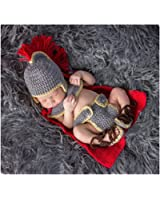 Fashion Newborn Boy Girl Baby Costume Outfits Photography Props Army General Set