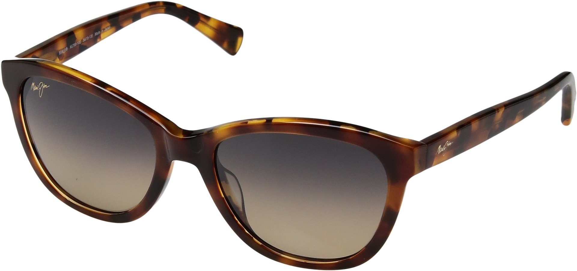 Maui Jim Womens Sunglasses Tortoise/Bronze Acetate - Polarized - 54mm