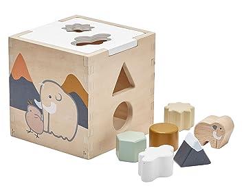 6d3bdc247fd66d Kids Concept- Holzspielzeug Steckspiel NEO Baby Spielzeug aus Gummibaum