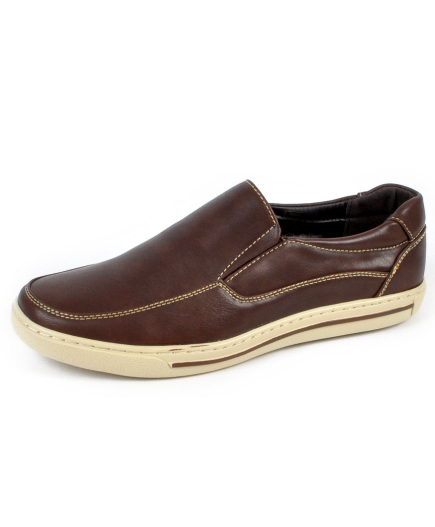 Men's Comfort Stride Loafers (9.5C, Brown) by boxed-gifts (Image #1)