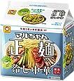 マルちゃん マルちゃん正麺 冷し中華 5食パック 590g ×6個