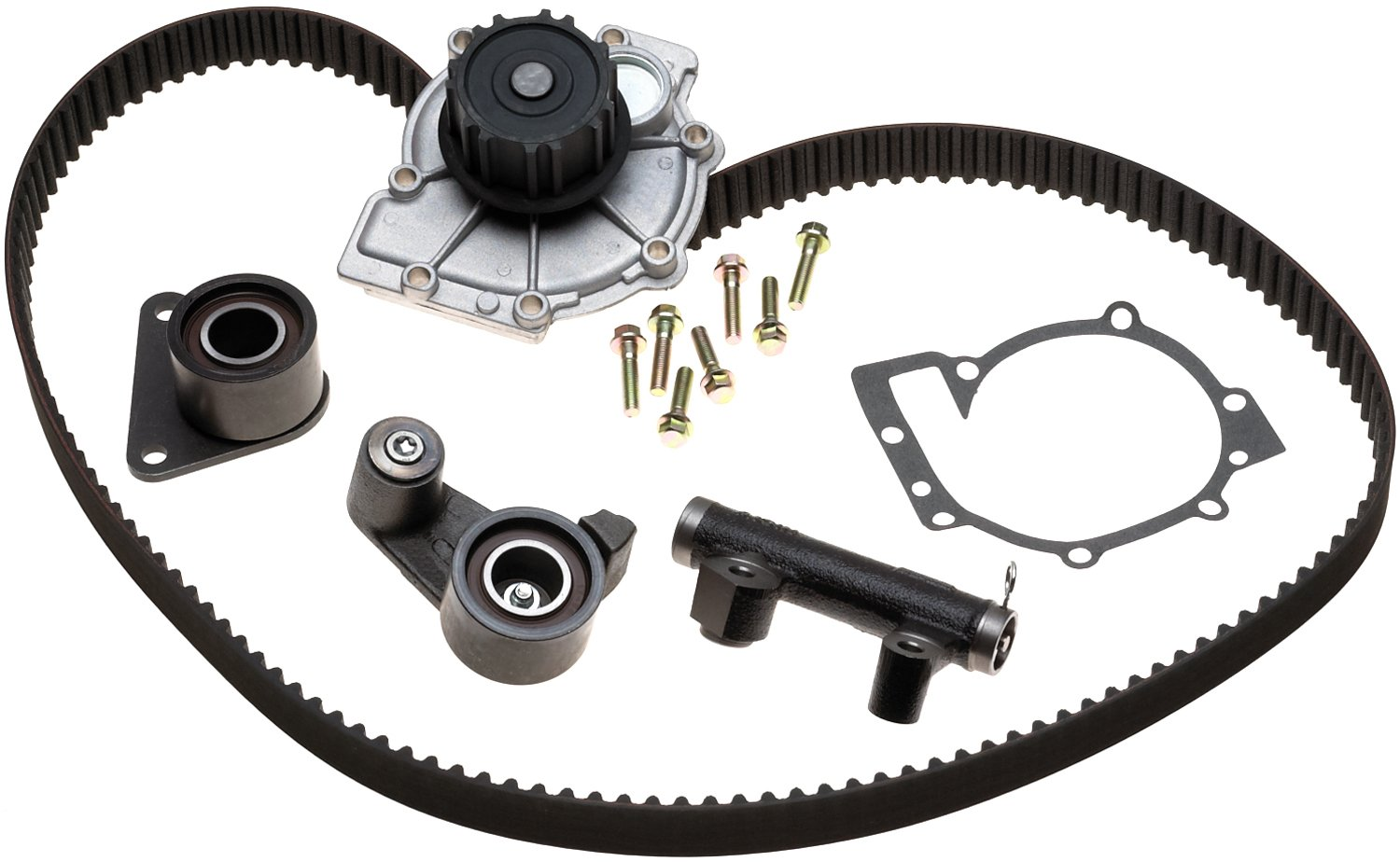 and Belt ACDelco ACK081264HD Professional Automatic Belt Tensioner and Pulley Kit with Tensioner Pulley