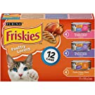 Purina Friskies Poultry Lovers Cat Food Variety Pack 12-156 g Cans