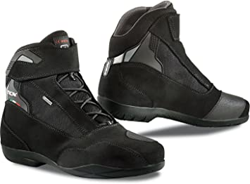 TCX Motorcycle Boots Size 43 Black