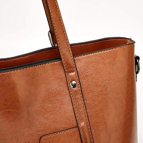 5fac8a6de6131 Amazon.com  Women Bag Top Handle Satchel Vintage Shoulder Bag Tote Purse  Large Capacity Bags Tote Bag