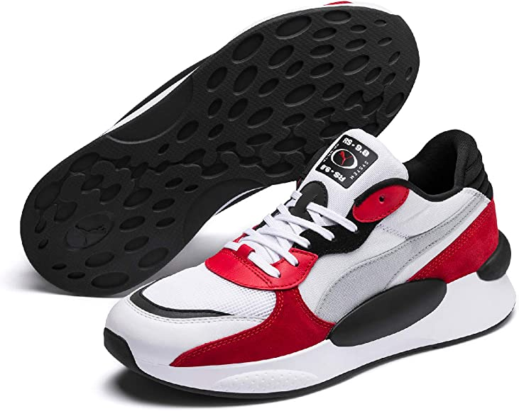 Puma RS 9.8 Space, Baskets Mixte Adulte, BlancUK (Puma White