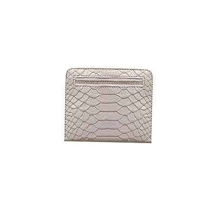 Amazon.com: Monedero de piel fina para mujer, con corona de ...