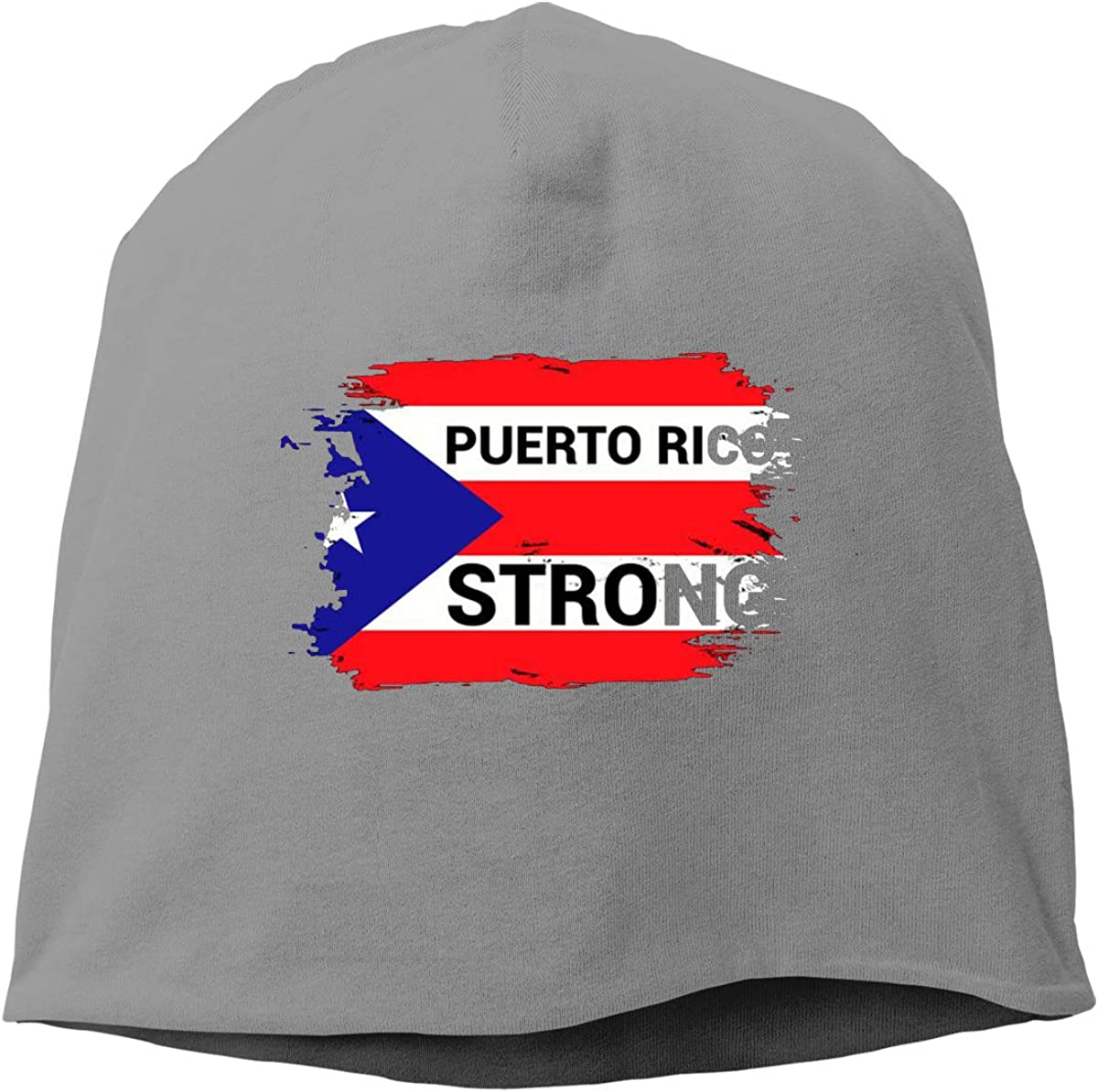 Puerto Rico Strong Unisex Knitted Hat Beanie Hat Warm Hats Skull Cap