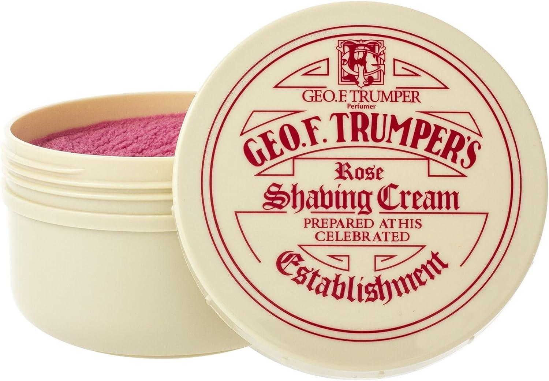 Geo F Trumper Shaving Cream Jar - Rose (200g)