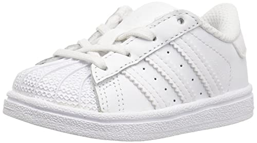 Adidas Originals C77154_Superstar Originals, Low-Top Unisex Bambini, Bianco (White/White