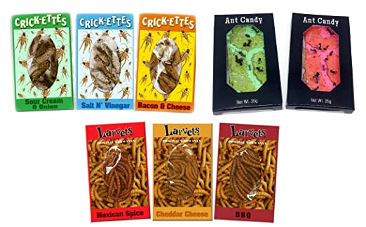 Ant Candy, Original Cricket Snax and Larvets