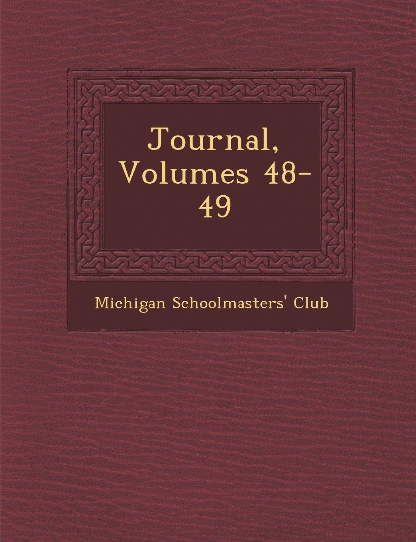 Read Online Journal, Volumes 48-49 Text fb2 book