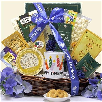 GreatArrivals Gift Baskets Birthday Wishes Gourmet Basket 181 Kg