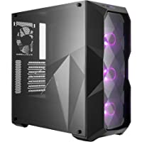 Cooler Master MasterBox TD500 ATX Mid Tower Case with Three Dimensional Diamond-Cut Design and RGB Fans