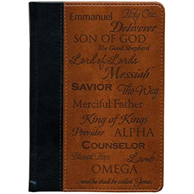 Brownlow Gifts Scripture Pocket Journal, Names of Jesus: Toys & Games