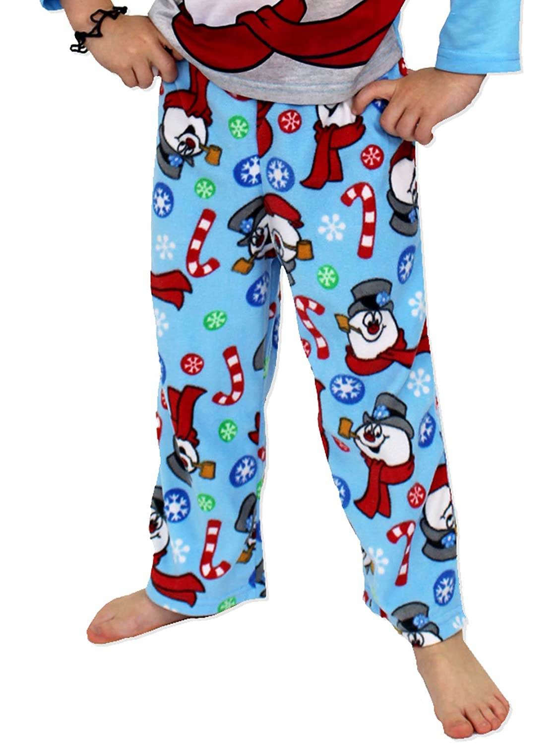 203c4b6f02 Amazon.com  Frosty the Snowman Christmas Holiday Family Sleepwear Pajamas  (Adult Kid Toddler)  Clothing