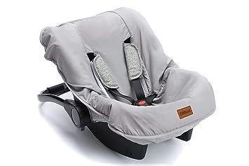 ByBoom® Sommerbezug für Babyschale universal z.B Maxi Cosi 100/% BIO-Baumwolle