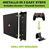HIDEit 4P PS4 Pro Wall Mount and (2) Controller