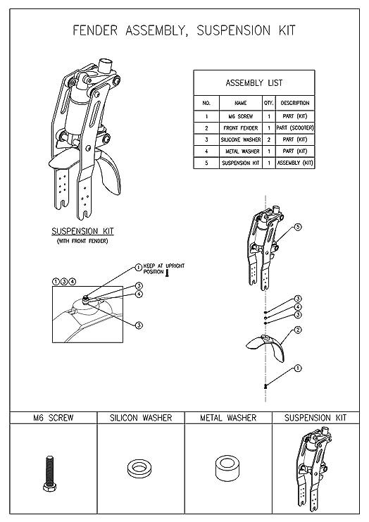 Amazon.com: Monorim Kit de actualización de suspensión ...