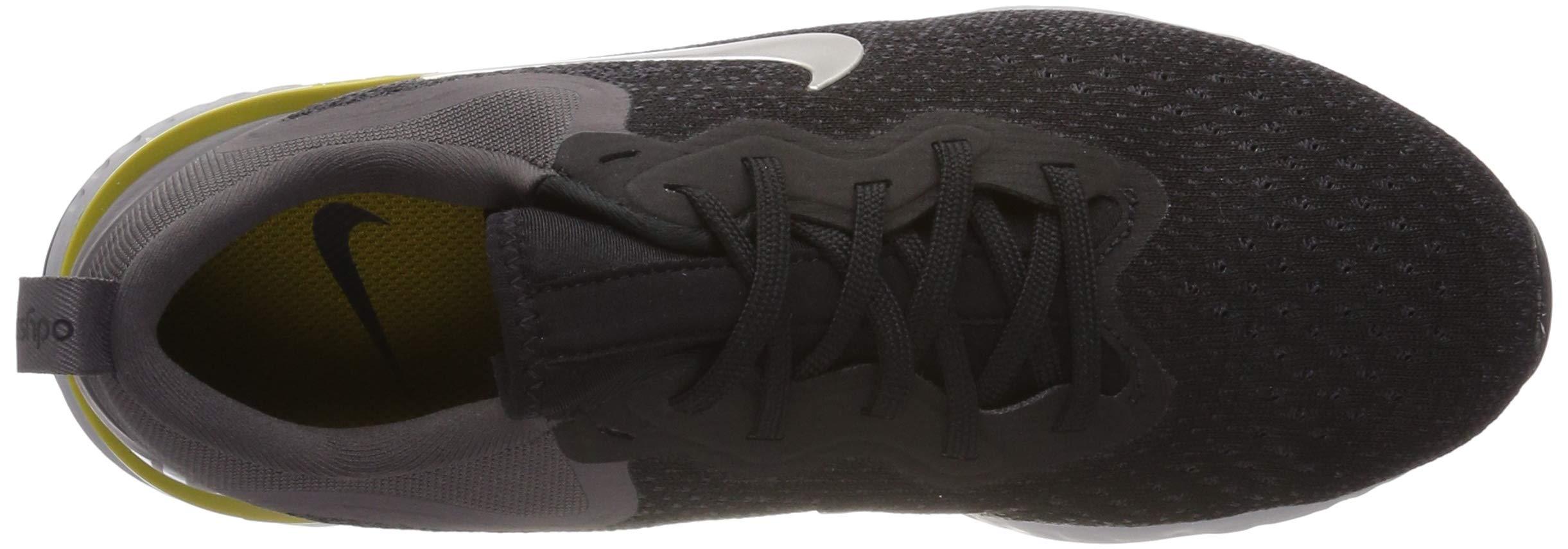 Nike Mens Odyssey React Running Shoes Black/Metallic/Grey/Atmos Grey 7 by Nike (Image #7)