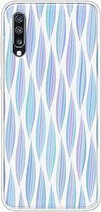 كفر حماية مرن شفاف جراب  متوافق مع سامسونج جالكسي اي 70  2019  - متعدد الألوان -  بواسطة اوكتيك