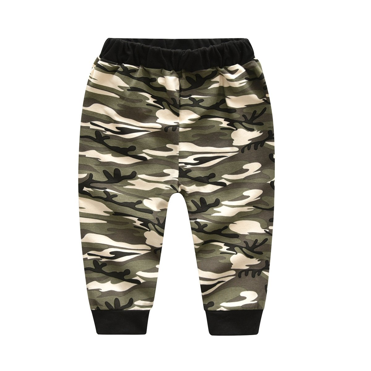 93be5e83f ... Infant Baby Boys Mini Boss Tshirt Camouflage Pants Outfits Clothes Set  Pinleck ...