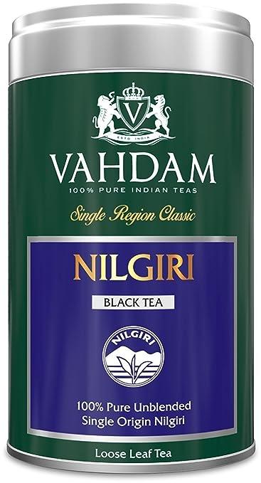 2 opinioni per VAHDAM Tè Nilgiri in barattolo di latta, 100% puro tè Nilgiri di singola origine