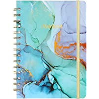"""Spiral Journal/Notebook - Lined Journal with Back Pocket and Hardcover, 8.4"""" x 6.3"""", College Ruled Notebook/Journal…"""