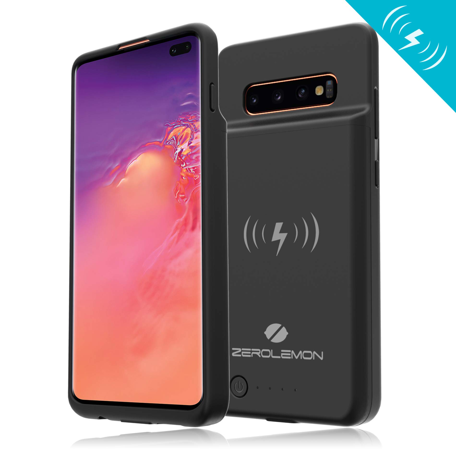 Funda Con Bateria De 5000mah Para Samsung Galaxy S10 Plus Zerolemon [711ms3qb]