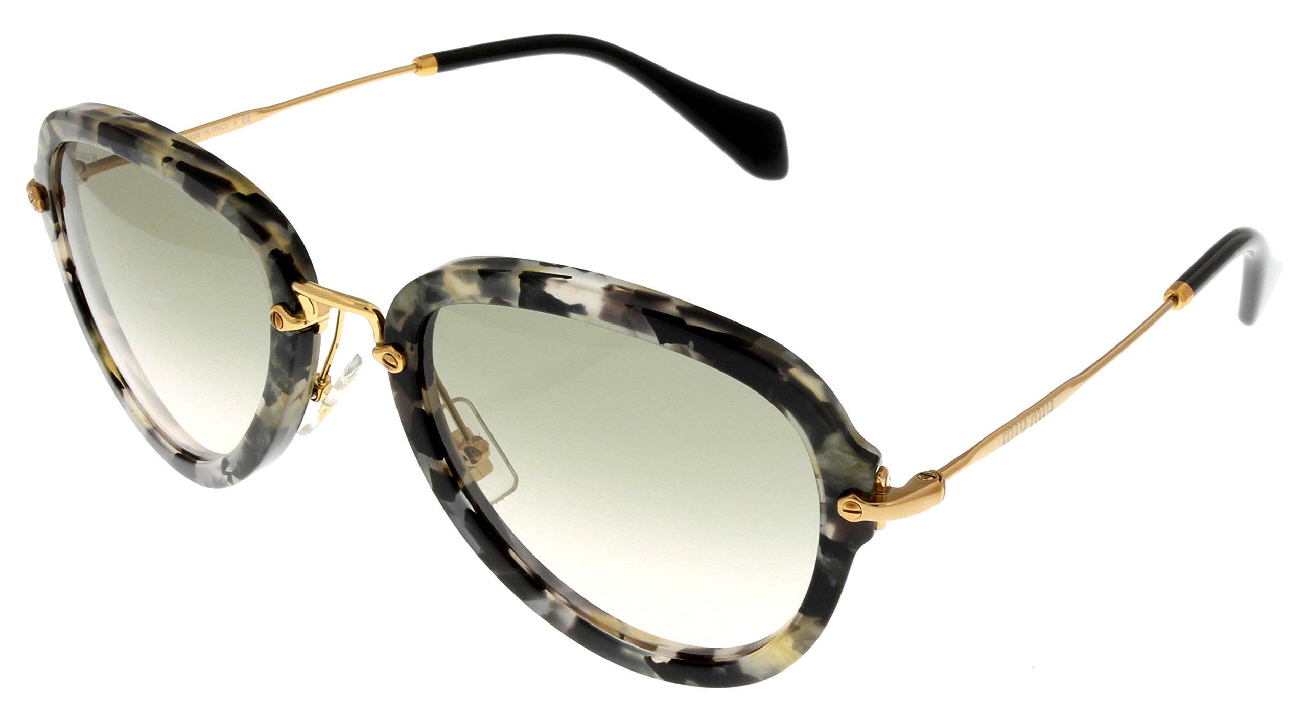 Miu Miu Sunglasses Women Havana Oval MU03QS DHE3H2
