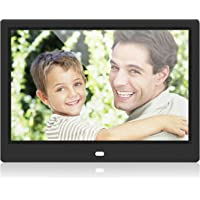10 inch Digital Photo Frame Multipurpose Media Calendar Clock Video HD Display Electronic Smart Picture Frame Background Music With Remote Control