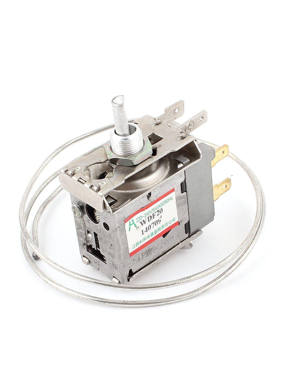 WDF20 y 3 clavijas para 68 cm Metal cable para nevera congelador para frigor/íficos termostato