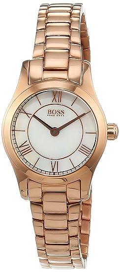 Hugo Boss - Reloj de Pulsera analógico para Mujer Cuarzo Acero Inoxidable 1502378: Amazon.es: Relojes