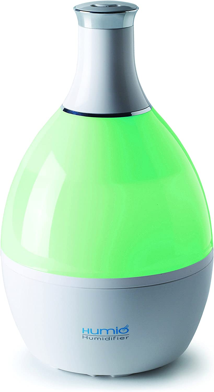 Tribest TRI191 Humio Humidifer Add Your Favourite Oils Creates Relaxing Ambience Shaded Colours Easy to Use, White