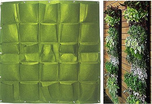 Wandmontage Pflanztasche Vertikal Grün Blume Pflanze Filz Vliesstoff Verkauf