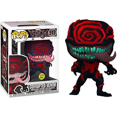 Funko Marvel Venom Pop! Corrupted Venom Glow-in-the-Dark L.A. Comic Con Exclusive: Toys & Games