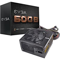EVGA 100-B1-0600-KR Power Supply 600 B1, 80+ BRONZE 600W